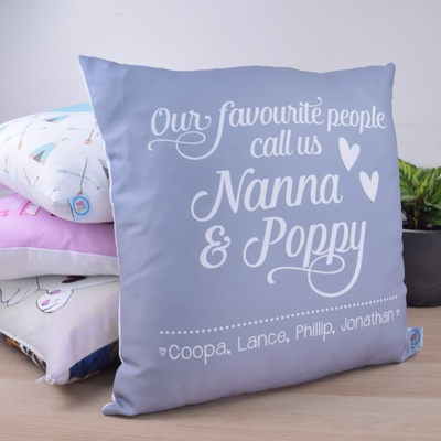 Grandparents - Our Favourite People Cushion Cover