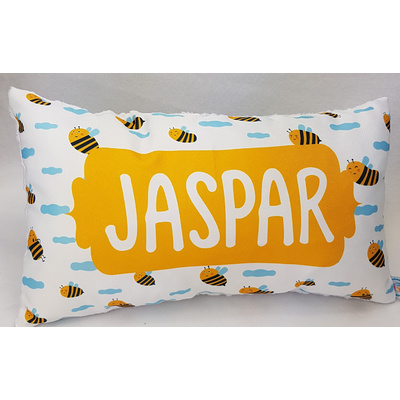 Sleepy Bees Cushion Cover