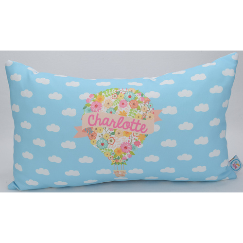 Floral Hot Air Balloon - [size: Medium - 30cm x 50cm (rectangular)]