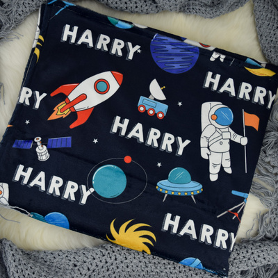 Space Adventure Personalised Blanket