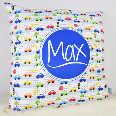 Busy Traffic Cushion Cover