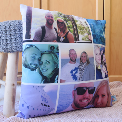 Memories Photo Cushion Cover