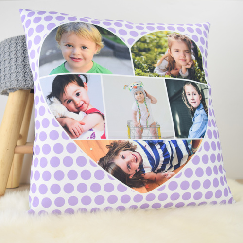 Dots Photo Cushion Cover (50x50cm)
